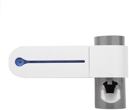 The Goods can be Received Within 3-10 Days Automatic Wall-Mounted Toothbrush Holder and UV lamp Vacuum Cleaner Automatic Toothpaste Squeezing Device HGFNR