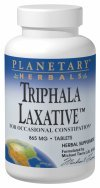 Planetary Herbals Triphala Laxative 865mg, for Occasional Constipation,120 Tablets