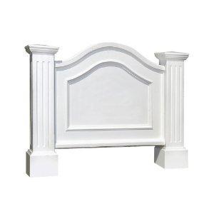 Estate Marker Address Sign - Mayne 5820-WH Nantucket Address Sign, White