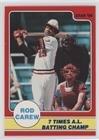 Rod Carew (Baseball Card) 1986 Star Rod Carew - [Base] #8