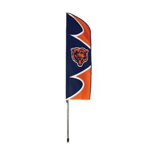 Party Animal SFCH Bears Swooper Flag And - Fan Nfl Banner Party Kit