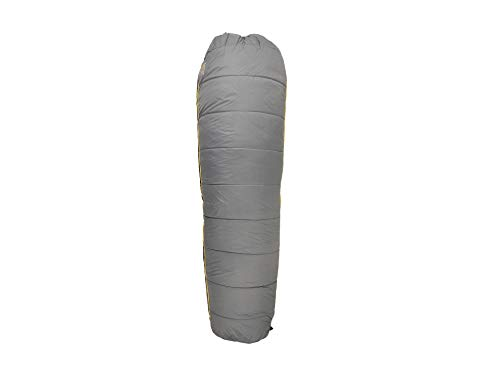 (Mountain Hardwear Flip 35 / 50F Sleeping Bag Titanium Regular / Right Zip )