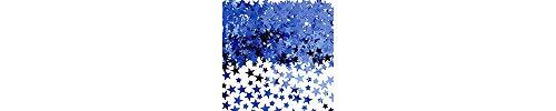 Amscan 37484.01 Confetti Decors Items, 5 oz, Blue ()