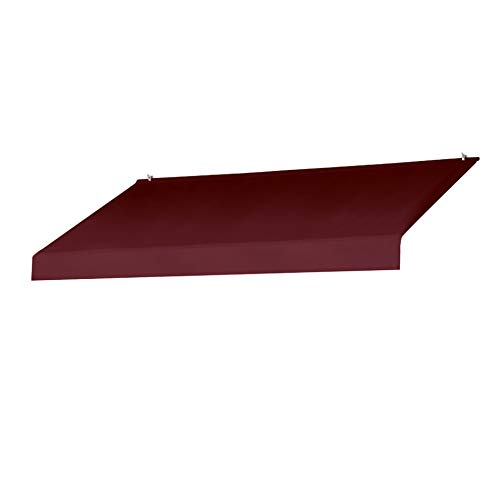 Sunsational Products Replacement Cover for Designer Window Awning - Burgundy - Size: 8' 3020868