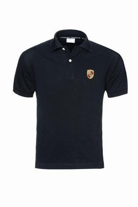 e9880132 Image Unavailable. Image not available for. Color: Porsche Crest Polo Shirt  ...