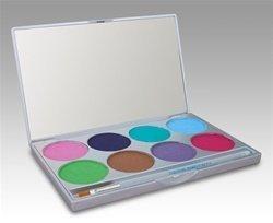 Paradise Palette 8 Kit Couleur / Face de peinture (Pastel) 2 oz