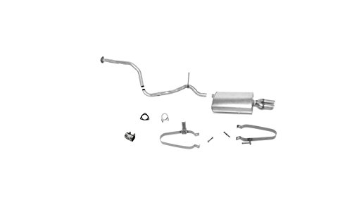 Mac Auto Parts 16951 Sunfire Cavalier 2.2L Dual Muffler Exhaust Pipe System 5378 MED76D