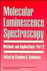 Molecular Luminescence Spectroscopy, , 0471636843