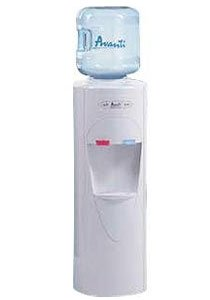 Free-Standing Room Temperature and Cold Water Cooler by Avanti