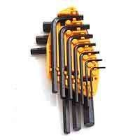 Mintcraft TW-050-043L Short Arm Hex Key Set 10pc