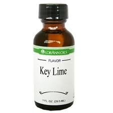 Lorann Hard Candy Flavoring Oil Key Lime Flavor 1 Ounce by LorAnn Oils