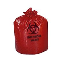 (NON122424 - Biohazard Liners,Red,10.000 GL)