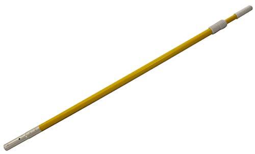 Aqua Select Yellow Fiberglass Vacuum Pole | 8-16 Feet | 2 Sections