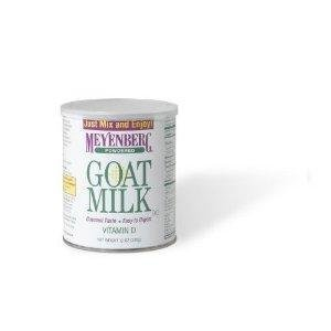 Goat Milk Pwdr Can 12oz (Pack of 6) by Meyenberg