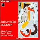UPC 730099980326, Bentzon: Piano Sonatas Nos. 3, 5 & 9