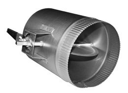 6 In Hvac Duct Manual Volume Air Damper With Handle