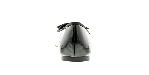 Da 10 Nero Ballerina Modello Donna Donne Nove 3 Formato Britannico Scarpe qBxwFvwE