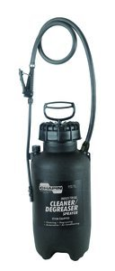Degreasing Sprayer - 2gal #22350 Poly Industrial Cleaning & Degreasing Sprayer with Poly Adjustable Nozzle