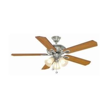 Hampton bay glendale 52 in brushed nickel ceiling fan hampton bay hampton bay glendale 52 in brushed nickel ceiling fan aloadofball Choice Image