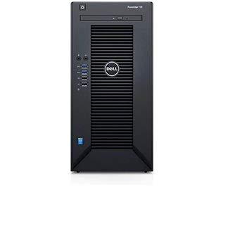 2019 Newest Flagship Dell PowerEdge T30 Premium Business Mini Tower Server, Intel Quad-Core Xeon E3-1225 v5, 8GB RAM, 1TB HDD, DVDRW, HDMI, No OS, Black (8GB+1TB) by Dell