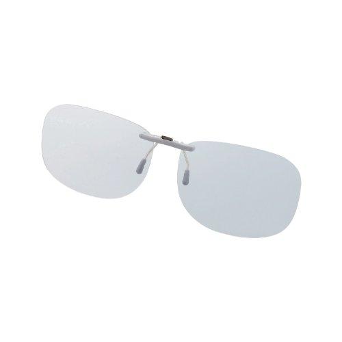 Elecom Blue Light measures Glasses PC GLASSES (47% cut) (clip-on type ? L size) OG-CBLP01GYL
