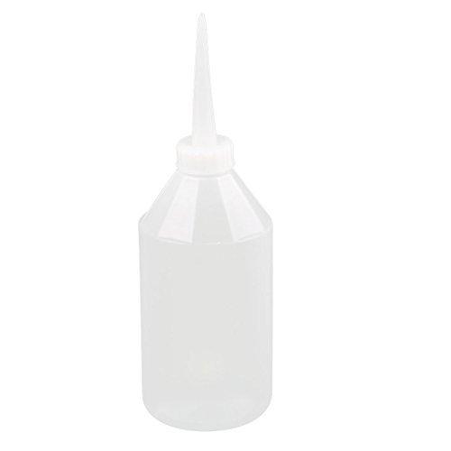 Amazon.com: eDealMax líquida plástica del aceite Botella de Plástico Salsa contenedor de almacenamiento Blanco claro: Industrial & Scientific