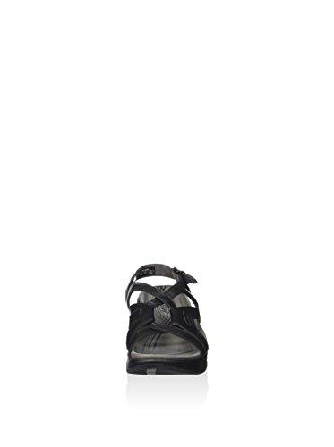 MBT Lequisha black 700207 Damen Sandalen schwarz