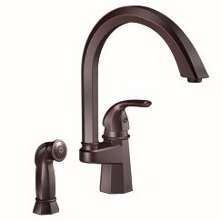 Moen Showhouse Felicity S741CSL One Handle High Arc Kitchen Faucet - Classic Stainless (Felicity One Handle Kitchen)