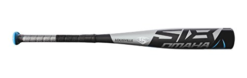 Louisville Slugger Omaha 518 (-10) Junior Big Barrel Baseball Bat, 2 3/4