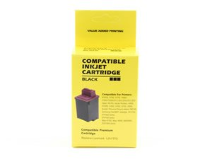(Compatible Lexmark Ink Cartridge 70 (12A1970) Black - Optra 40, 40n, 45, 45n, X125, X4250, X4270, X63, X73)