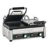 Waring Commercial WFG300T Dual Flat Panini Grill with Timer, 240-volt