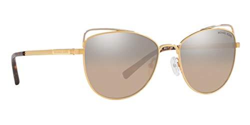 Michael Kors Women's St. Lucia 0MK1035 55mm Light Gold/Silver Khaki Flash One Size ()