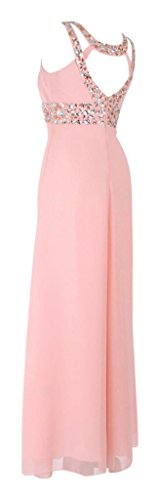 MY EVENING DRESS Damen Cocktail Kleid Rosa - Hellpink QbuQ4b7