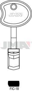 FIC-18/JMA/FICHET Key Blanks