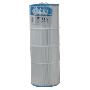 (Filbur FC-5177 Antimicrobial Replacement Filter Cartridge for Jandy CT Series and Waterco Trimline CC-75 Pool/Spa Filter)