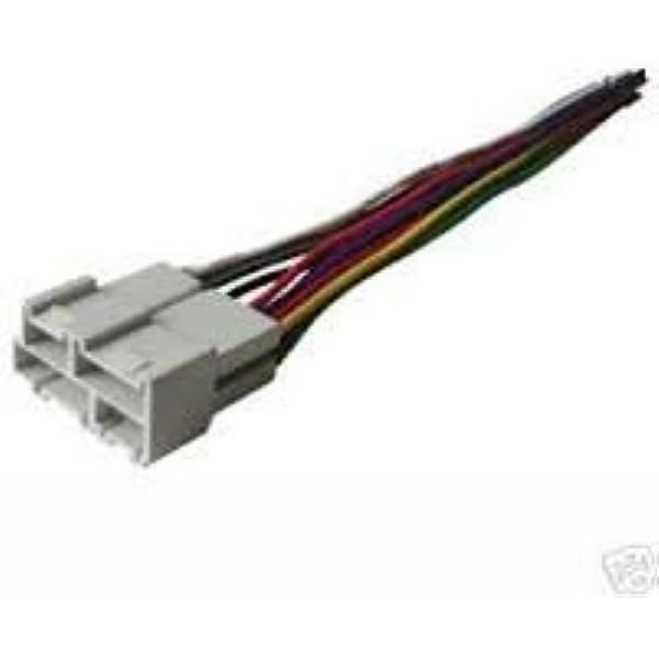 Amazon.com: Stereo Wire Harness Chevy CK Silverado 95 96 97 98 (car Radio  Wiring Installation Parts): AutomotiveAmazon.com