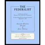 The Federalist, Center for Judicial Studies Staff, 0840355440