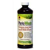 (Nature's Answer Cool Mint PerioWash Alcohol Mouthwash, 16 Ounce - 3 per case.)