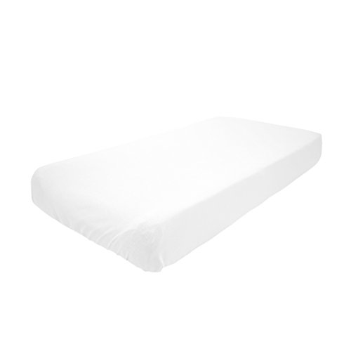 - Betty Dain Stretch Jersey Universal Baby Infant Changing Pad Cover, White