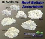 Deep Blue Professional ADB80200 7-Piece Coral Reef Builder-Pack for Aquarium