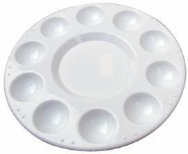 Palette - Plastic 10-well (7 In) by Loew-Cornell