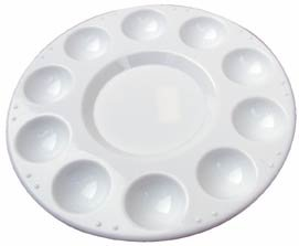 Palette - Plastic 10-well (7 In)