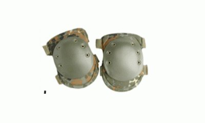Tactical Knee Protection Protective Pads Airsoft Paintball Combat Flecktarn by CamoOutdoor