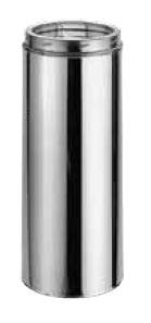 8'' x 36'' DuraTech Stainless Steel Chimney Pipe - 9606
