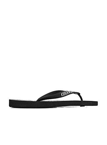 Men's Black Thong Sandals BAY KOALA 8A4x5w