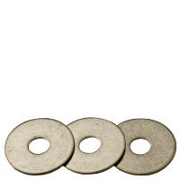 (500pcs) 1/2''x2''x0.061 Flat Washer, Stainless Steel (18-8), Fender Standard, (inch), Size: 1/2'', Length: 2''