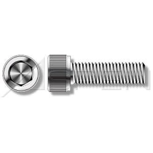 "(75 pcs) #6-32 X 1"", Socket Head Cap Screws, Hex Socket Drive, AISI 304 Stainless Steel (18-8)"