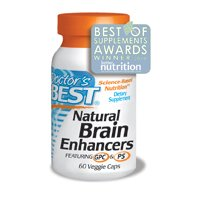 Doctors Best Natural Brain Enhancers, 60 Vcaps