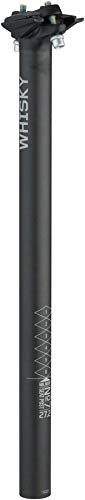 WHISKY - No.7 Carbon Fiber Bicycle Seatpost - 27.2mm x 400mm, 0mm Offset by WHISKY