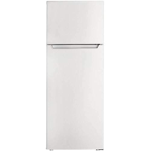 Danby 7.3 Cu. Ft. Refrigerator with Top-Mount Freezer in White